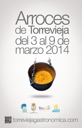 Cartel Arroz Torrevieja 2014