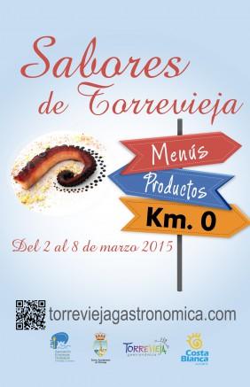 CARTEL SABORES DE TORREVIEJA 2015