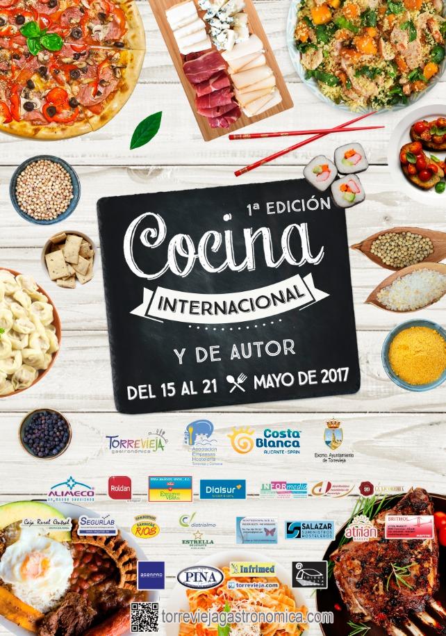 Cartel Definitivo Cocina Internaconal y de Autor