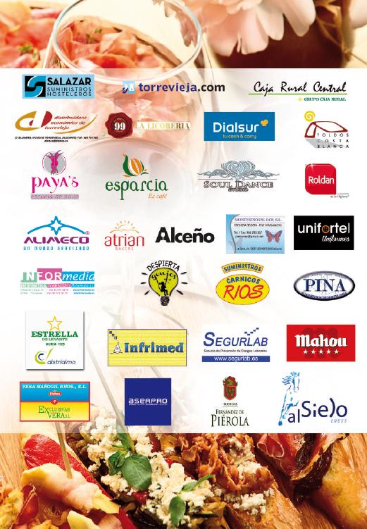 Colaboladores II Festival Gastrocultural de la Vega Baja GASTROVEGABAJA 2017