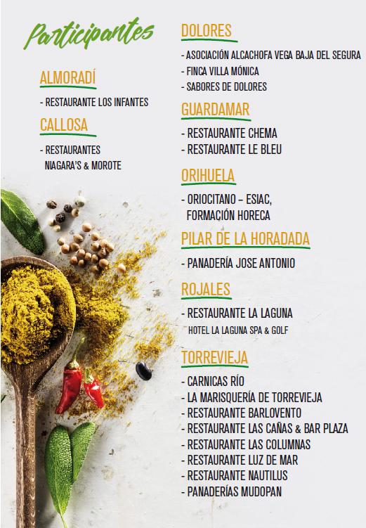 Flyer II Festival Gastrocultural de la Vega Baja GASTROVEGABAJA 2017